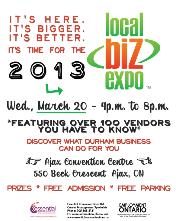 Local Biz Expo 2013 in Ajax, Ontario